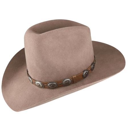 Bollman Hat Company 140 - 1980s Urban Wool Felt Western Hat