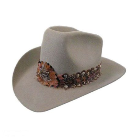 Bollman Hat Company 140 - 1980s Urban Wool Felt Western Hat - Made to Order