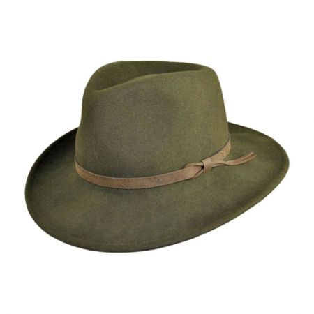 Bollman Hat Company 140 - 1990s Wool Felt Outback Hat - Made to Order