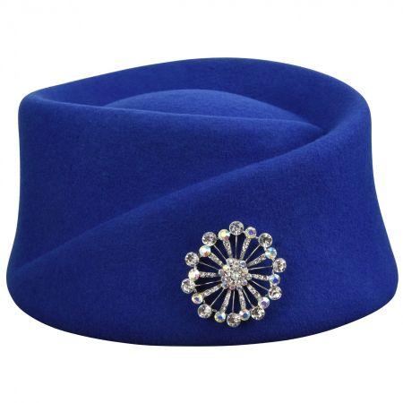 Heritage Collection 1910s Wool Felt Toque Hat