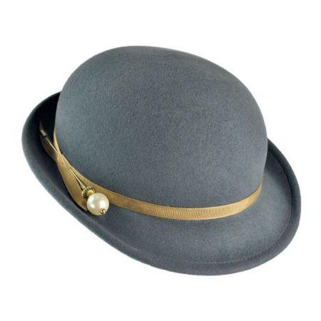 Bollman Hat Company Heritage Collection 1930s Aviator Wool Felt Hat