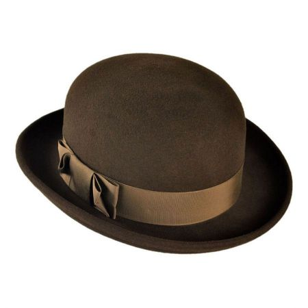 Bollman Hat Company Heritage Collection 1970s Annie Wool Felt Hat