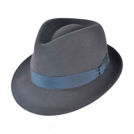 Bollman Hat Company Heritage Collection 2000s Wool Felt Trilby Fedora Hat