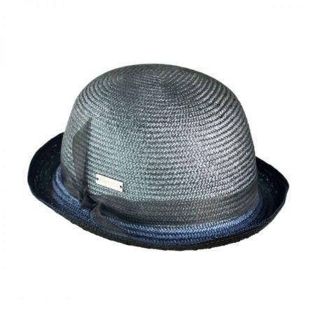 Kangol Space Bombin Straw Bowler Hat
