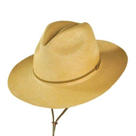 Explorer Panama Straw Fedora Hat - Made to Order alternate view 7