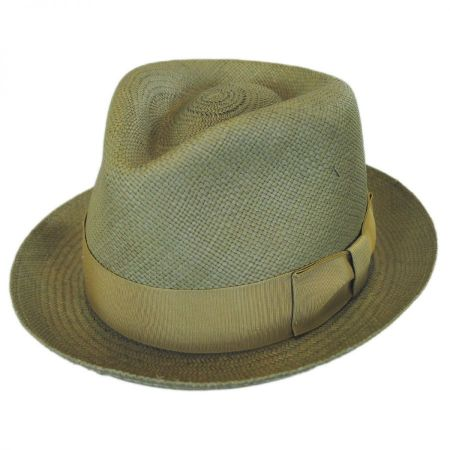 Havana Panama Straw Fedora Hat alternate view 1