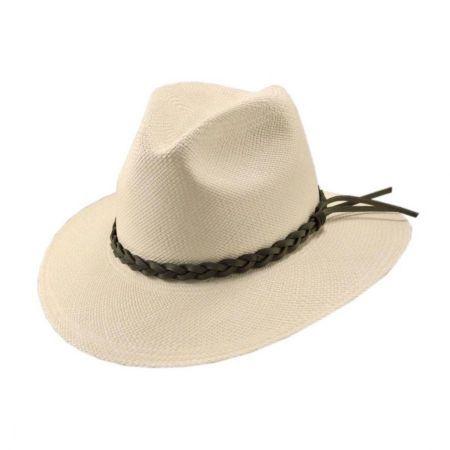 Pantropic Mendocino Panama Safari Fedora Hat - Made To Order