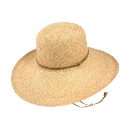 Pantropic Gaucho Panama Straw Sun Hat