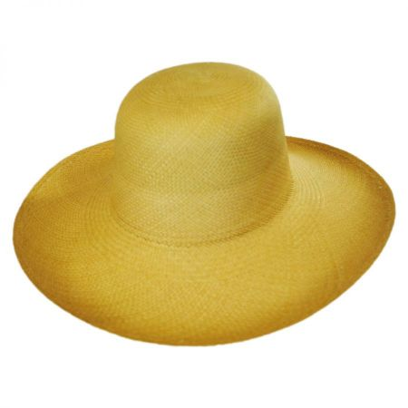 Pantropic Panama Straw Floppy Hat