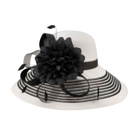 Lanna Straw Lampshade Hat alternate view 2