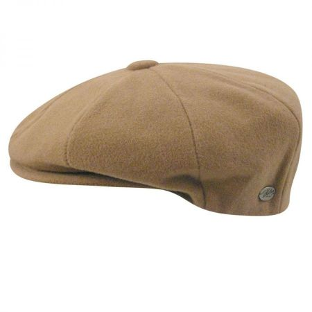 Galvin Solid Newsboy Cap alternate view 6