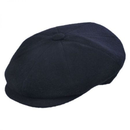 Galvin Solid Newsboy Cap alternate view 8