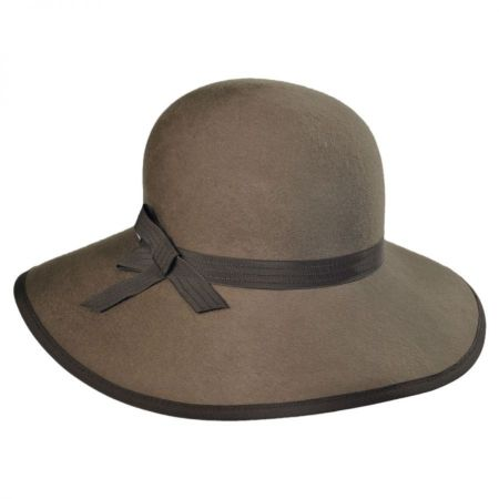 Betmar Oksana Wool Felt Swinger Hat