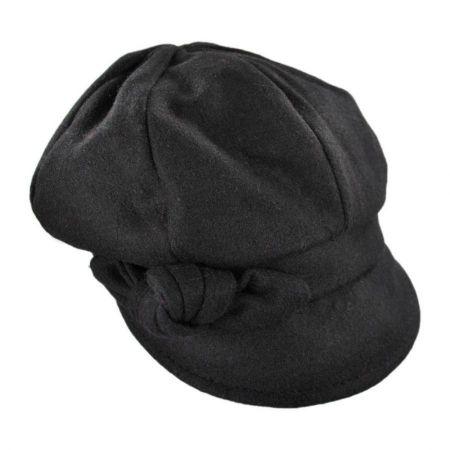 Adele Wool Blend Newsboy Cap