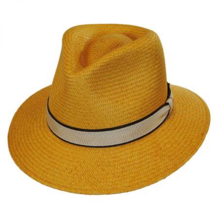 Brooks Panama Fedora Hat alternate view 5
