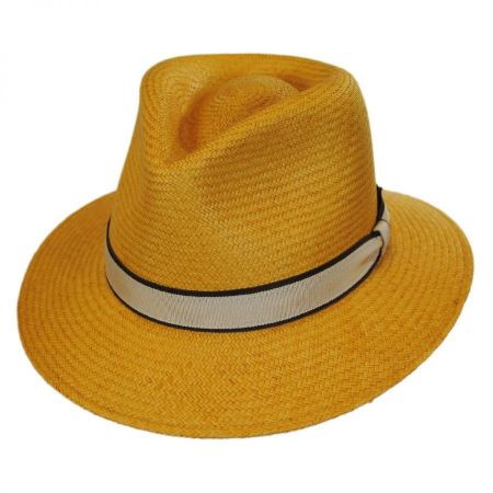Brooks Panama Fedora Hat alternate view 11