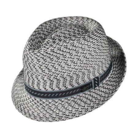 Grey Trilby at Village Hat Shop 3ff8526afa31