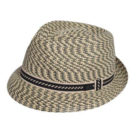 Bailey Mannes Poly Braid Fedora Hat