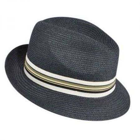 Salem Braided Toyo Straw Fedora Hat alternate view 27