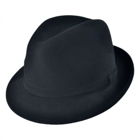 Charlie Wool LiteFelt Fedora Hat alternate view 1