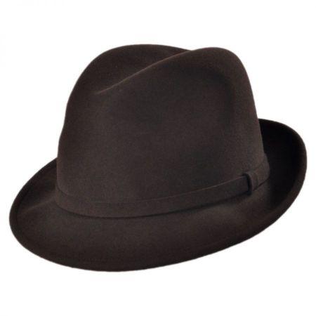 Charlie Wool LiteFelt Fedora Hat alternate view 11