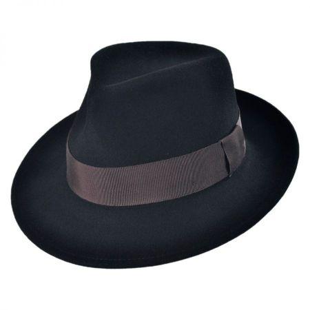 Pantropic Branson Wool LiteFelt Fedora Hat