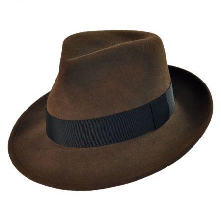 Pantropic Branson Wool Felt Fedora Hat