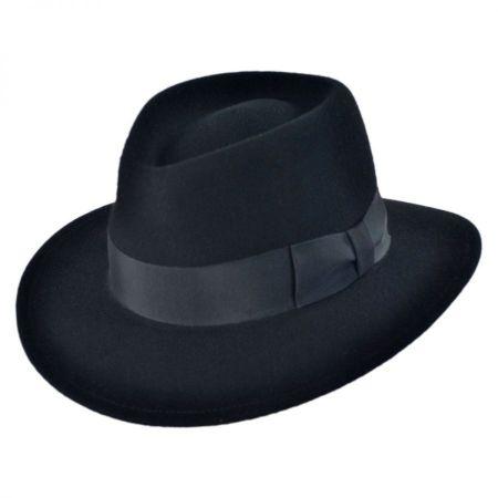 Pantropic Robin Wool LiteFelt Fedora Hat