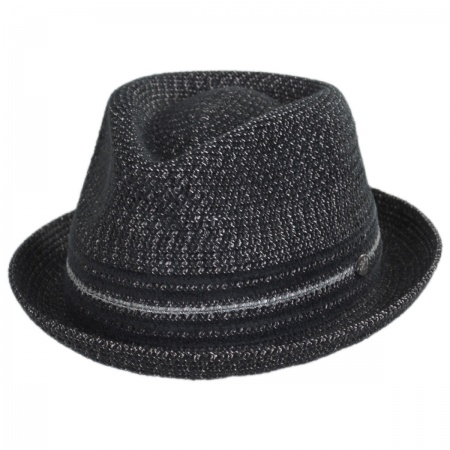 Vito Toyo Straw Braid Trilby Fedora Hat alternate view 52