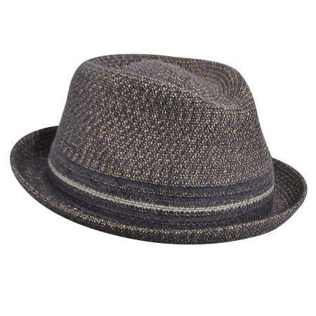Vito Toyo Straw Braid Trilby Fedora Hat alternate view 67