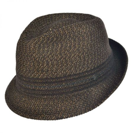 Vito Toyo Straw Braid Trilby Fedora Hat alternate view 6