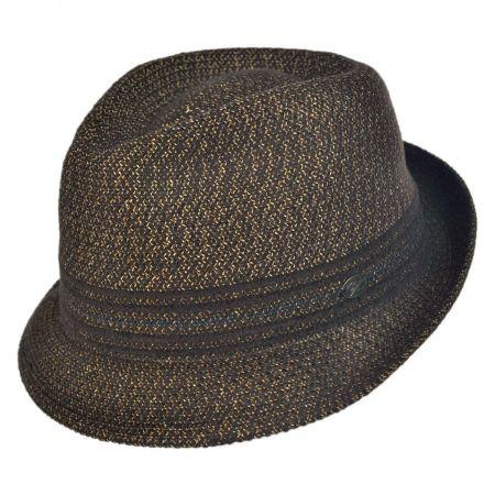 Vito Toyo Straw Braid Trilby Fedora Hat alternate view 57