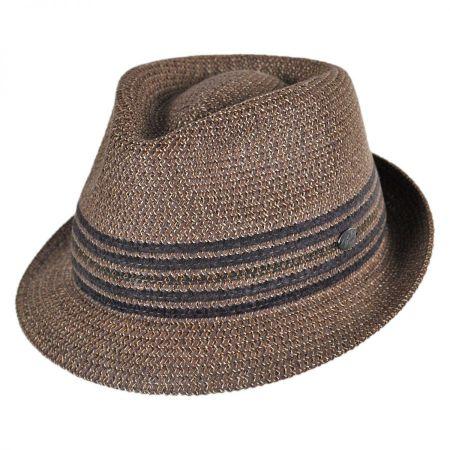 Vito Toyo Straw Braid Trilby Fedora Hat alternate view 17