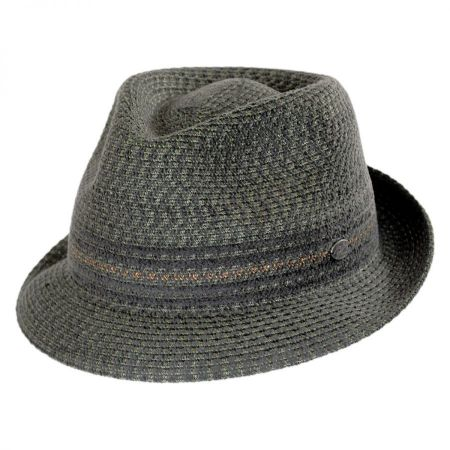 Vito Toyo Straw Braid Trilby Fedora Hat alternate view 53