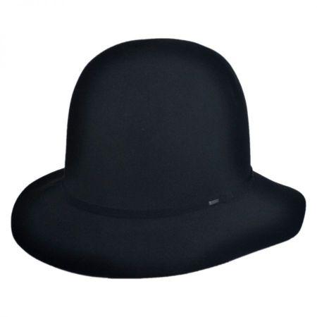Antone Fur Felt Open Crown Fedora Hat alternate view 21