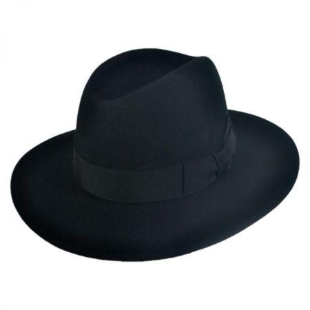 Hiram Wool Felt Fedora Hat alternate view 9