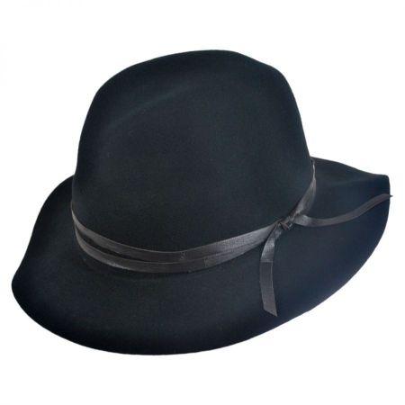 Bailey Obie 4oz Wool Felt Crushable Fedora Hat