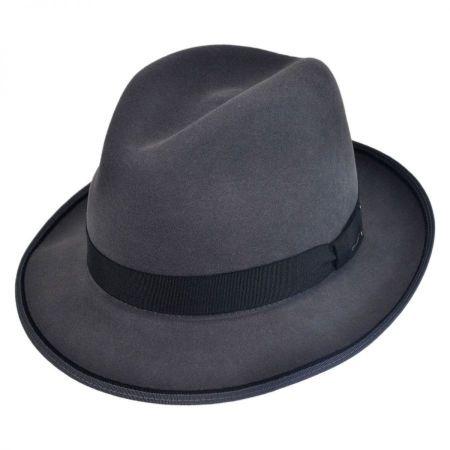 Benny Cashlux Cashmere Blend Fedora Hat alternate view 17