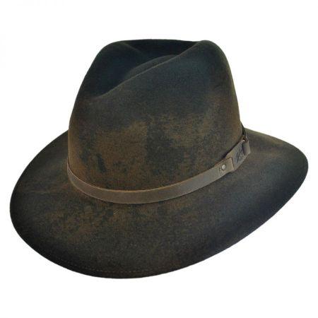 Bailey Wardell Lanolux Crushable Fedora Hat