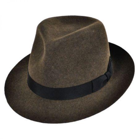 Bailey Bertram Wool LiteFelt Fedora Hat