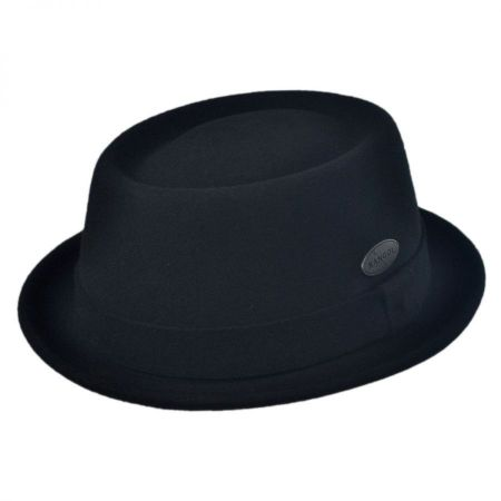 Wool LiteFelt Pork Pie Hat