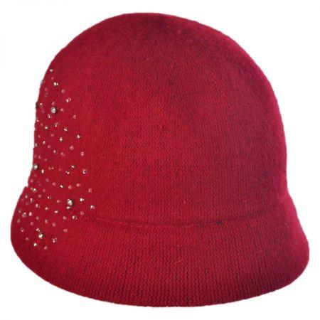 Betmar Patty Knit Wool Cloche Hat