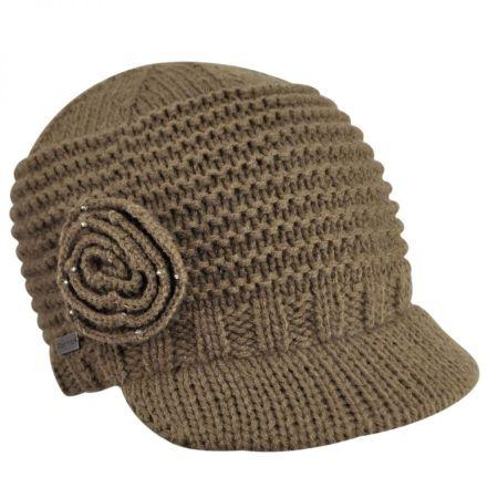 Betmar Flower Knit Cap