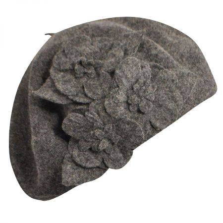 Flower Wool Beret alternate view 2