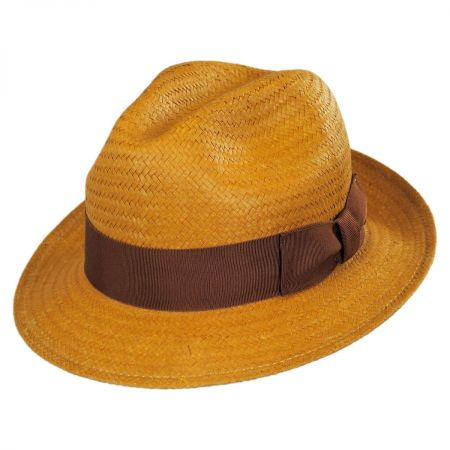 Lando Toyo LiteStraw Fedora Hat alternate view 36