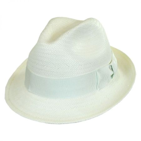Bailey Lando Toyo LiteStraw Fedora Hat