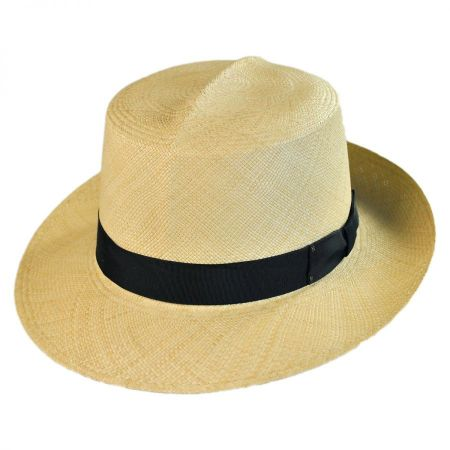 Roll Up II Panama Straw Fedora Hat
