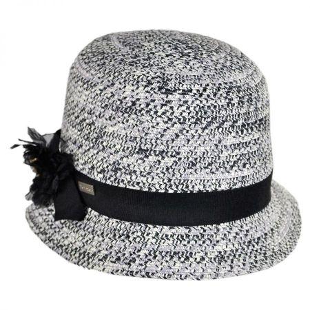 Betmar Inge Toyo Straw Cloche Hat