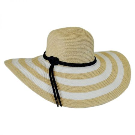 Demetria Toyo Straw Sun Hat alternate view 2