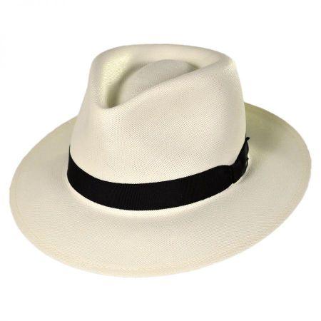 Konrath Shantung LiteStraw Fedora Hat alternate view 1